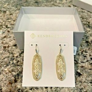 Kendra Scott Brenna Gold Earrings New with tags